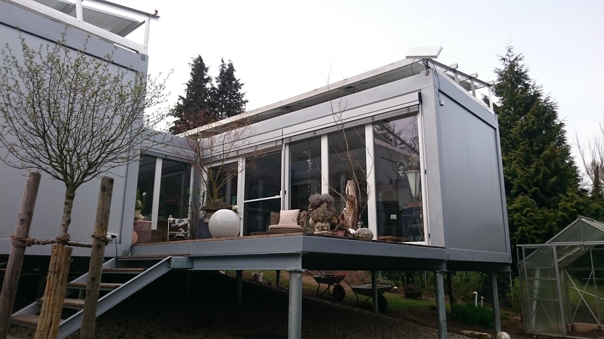 Wohnhaus Container häuser conhouse