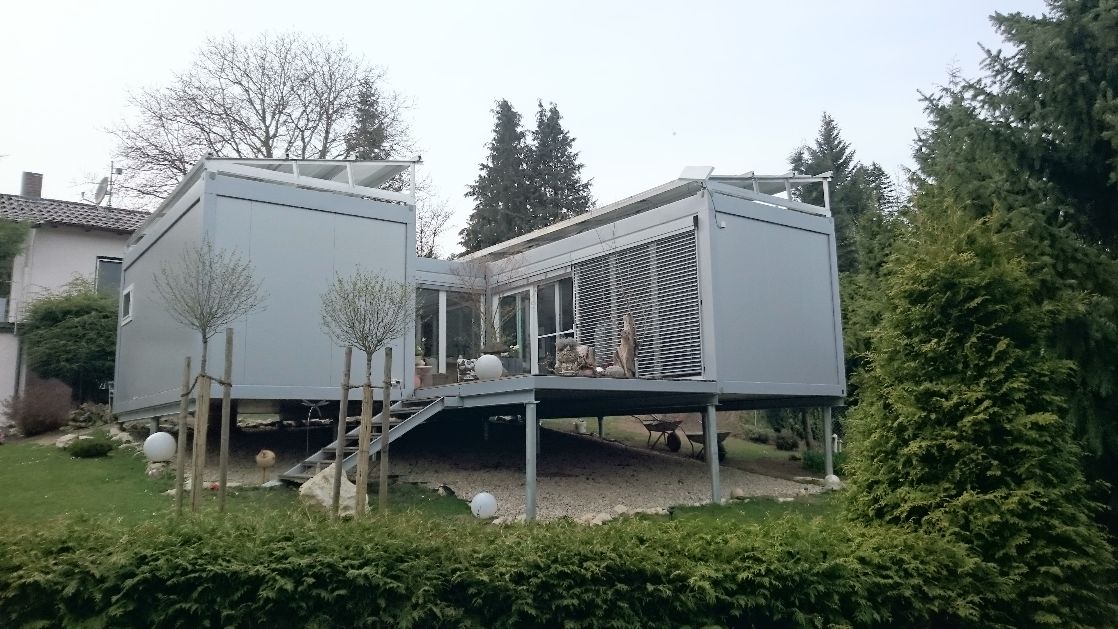 H user conhouse for Container wohnhaus