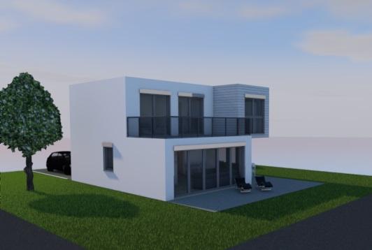 EFH typ 1_140 - terrasse
