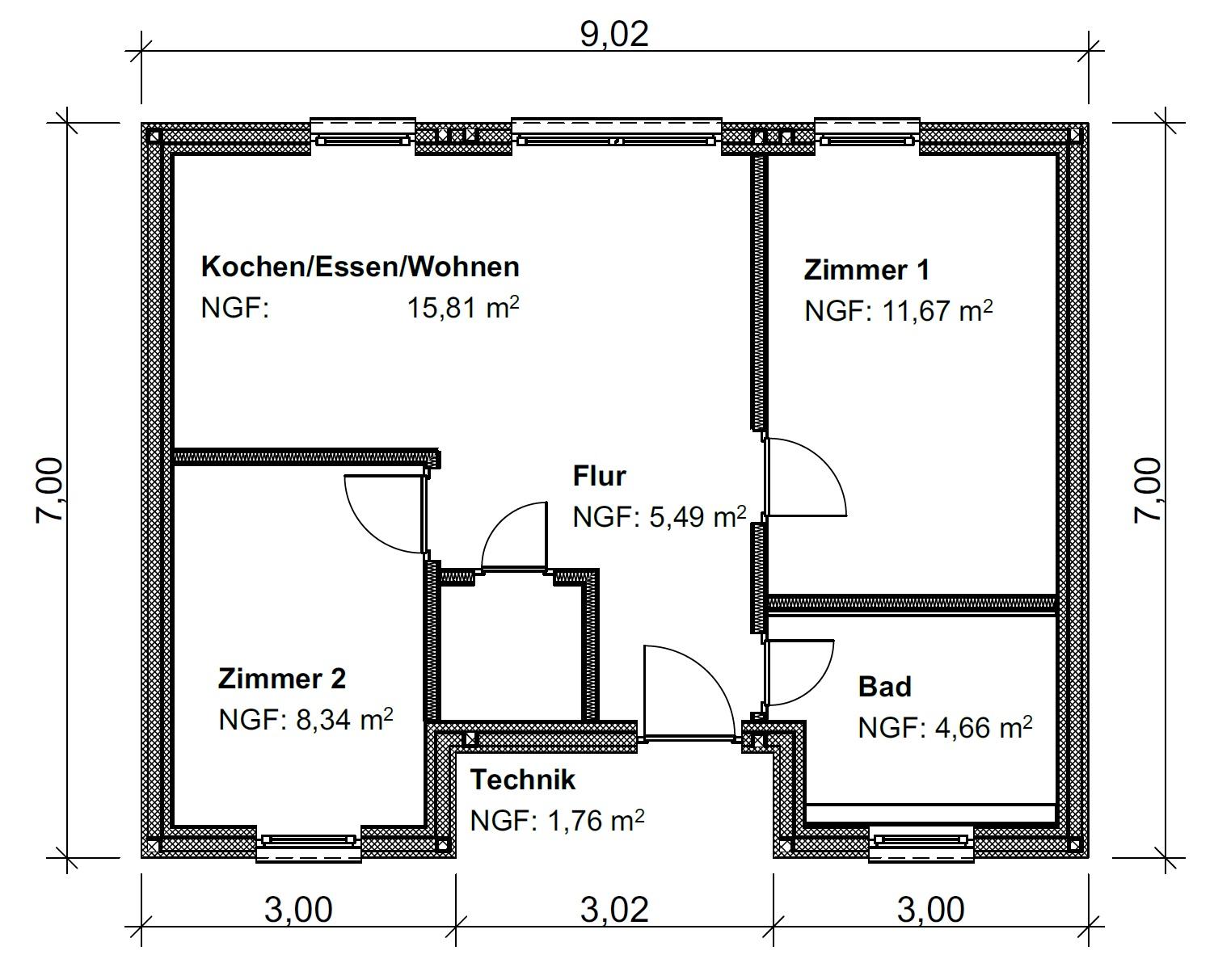Beliebt Haustypen | CONHOUSE QM52