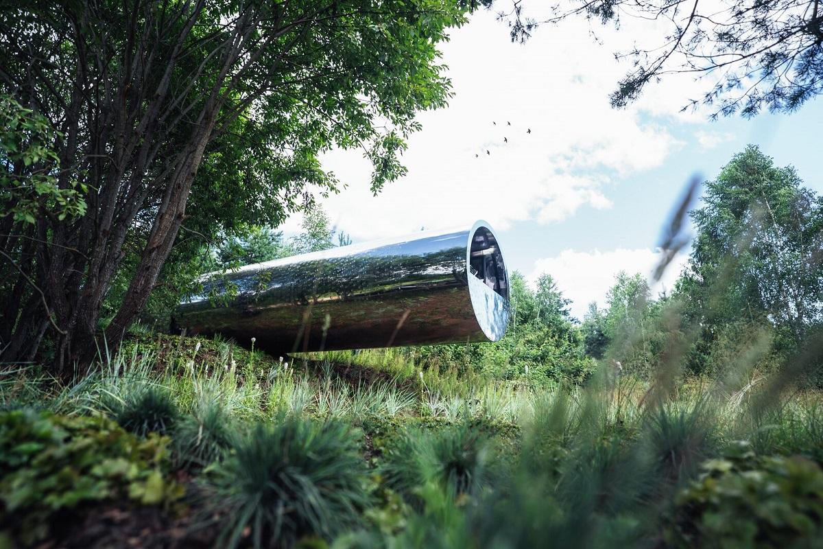 Tubular Steel Cabin3 Dwell